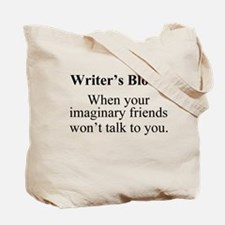 Writer's Block. Tote Bag