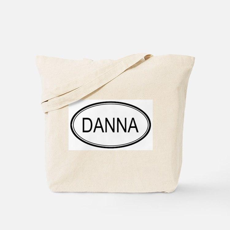 Danna Oval Design Tote Bag