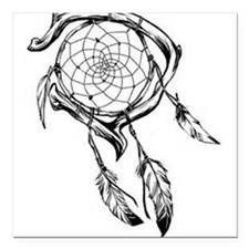"Dreamcatcher Square Car Magnet 3"" x 3"""