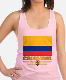 Flag of Colombia Racerback Tank Top