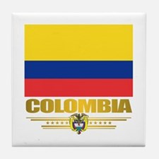 Flag of Colombia Tile Coaster