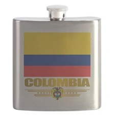 Flag of Colombia Flask