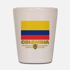 Flag of Colombia Shot Glass