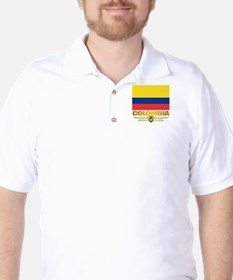Flag of Colombia Golf Shirt