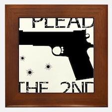 Plead the 2nd 1911 Framed Tile