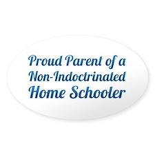 Home Schooler Bumper Decal
