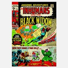 The Inhumans And The Black Widow