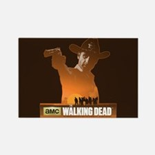Rick Grimes Sheriff Rectangle Magnet