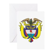 Colombia COA Greeting Cards (Pk of 10)