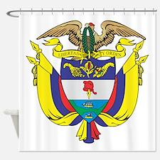 Colombia COA Shower Curtain