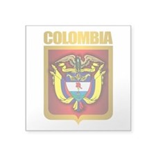 Colombia Gold Sticker