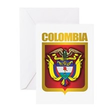 Colombia Gold Greeting Cards (Pk of 10)