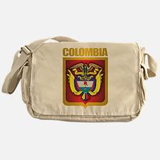 Colombia Gold Messenger Bag