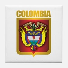 Colombia Gold Tile Coaster