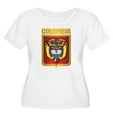 Colombia Gold Plus Size T-Shirt