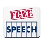Free Speech Mousepad