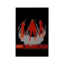 Michonne Chained Walkers Rectangle Magnet