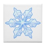 Flurry Snowflake VI Tile Coaster