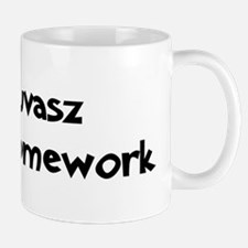 Kuvasz ate my homework Mug