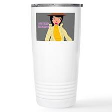 Mystery Brunette design Travel Mug