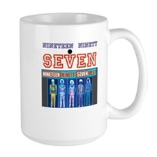 Nineteen Ninety Seven inverted design Mug