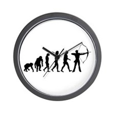 Evolution Archery Wall Clock