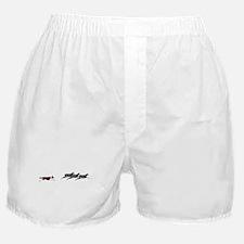 Red BC on Sheep Boxer Shorts