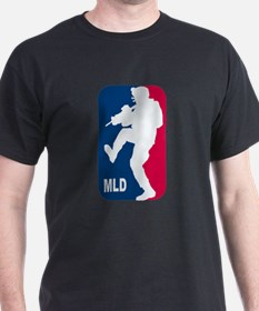 Major League Doorkicker (rounded) T-Shirt