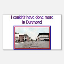 DUNMORE REQUEST Rectangle Decal