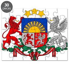 Latvia COA Puzzle
