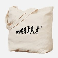 Evolution of Volleyball Tote Bag