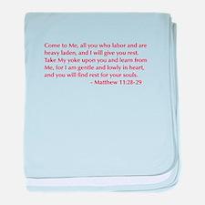 Matthew-11-28-29-opt-burg baby blanket