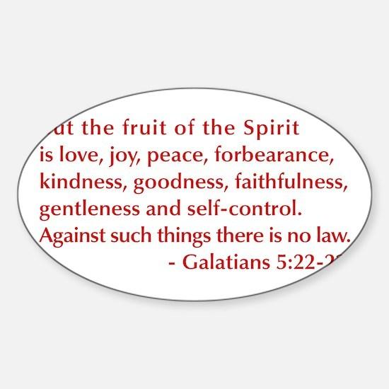 Galatians--5-22-23 Decal