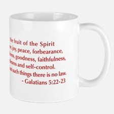 Galatians--5-22-23 Mug