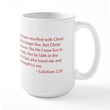 Galatians--2-20-opt-burg Mug