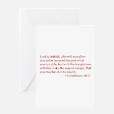 1-Corinthians-10-13-opt-burg Greeting Card