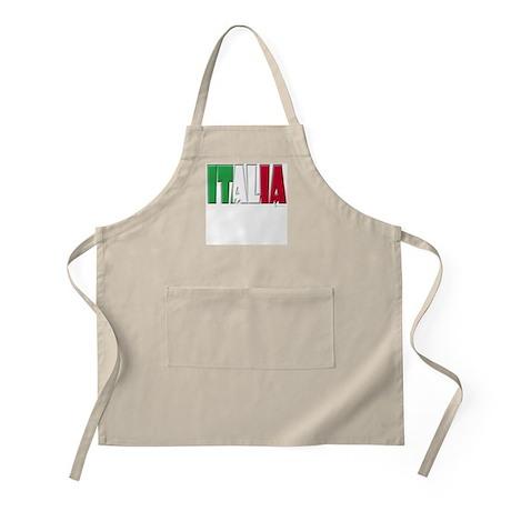 Word Art Italia BBQ Apron
