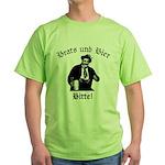 Brats und Bier Green T-Shirt