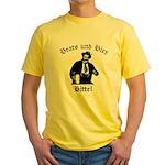 Brats und Bier Yellow T-Shirt