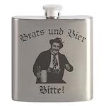 Brats und Bier Flask