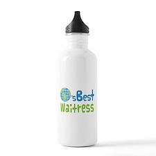 Worlds Best Waitress Water Bottle