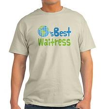 Worlds Best Waitress T-Shirt