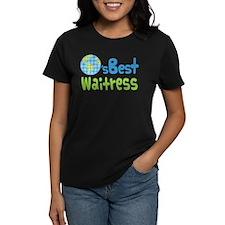 Worlds Best Waitress Tee