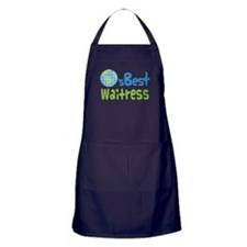 Worlds Best Waitress Apron (dark)