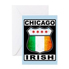 Chicago Irish American Sign Greeting Card