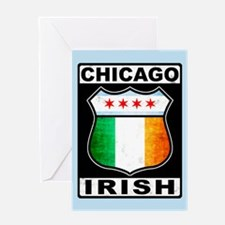 Chicago Irish American Sign Greeting Card
