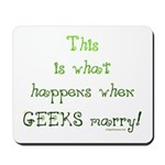 When geeks marry Mousepad