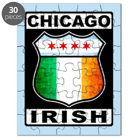 Chicago Irish American Sign Puzzle