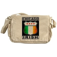 Chicago Irish American Sign Messenger Bag