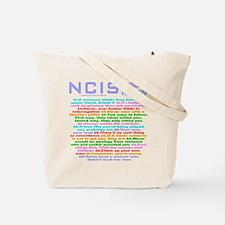 NCIS Gibbs Rules Tote Bag